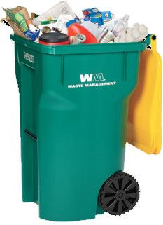 Waste Management Trash Bin