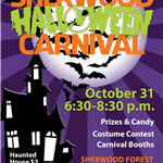 Image of Halloween Carnival Flier