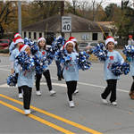 Image of youth dance group at Christmas Parade