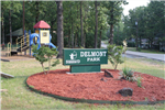 Photo of Delmont Park entry sign.